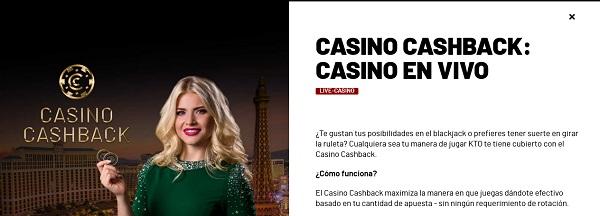 casino cashback kto